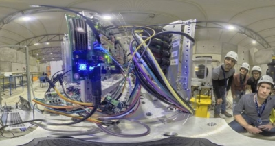 Ubotica at CERN with radiation blasting equipment for chip test